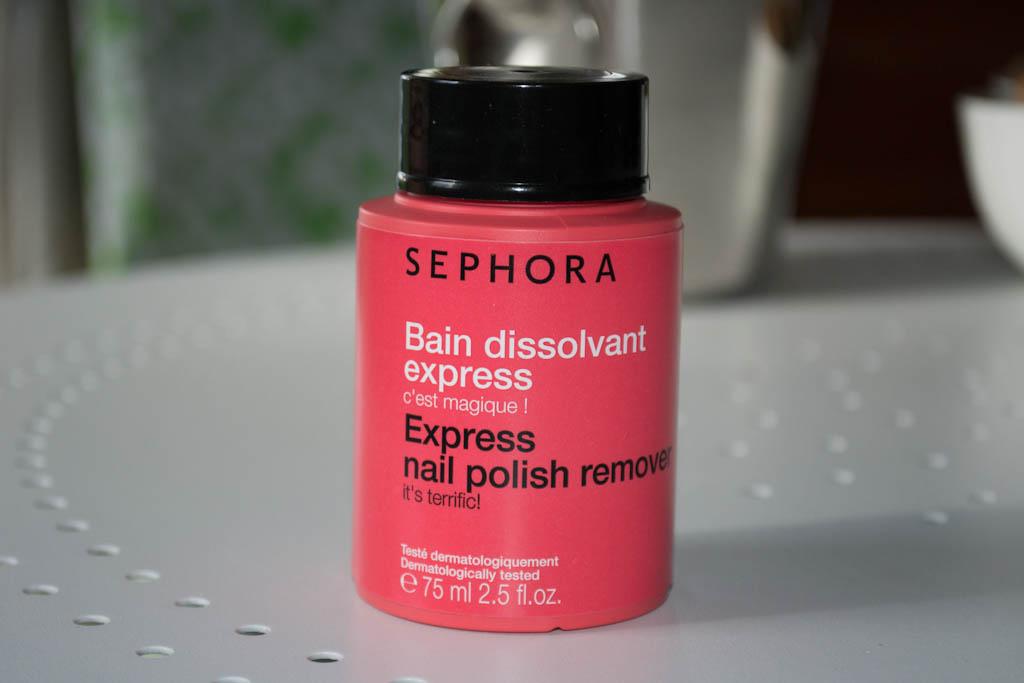 Czary mary – Sephora – Express nail polish remower